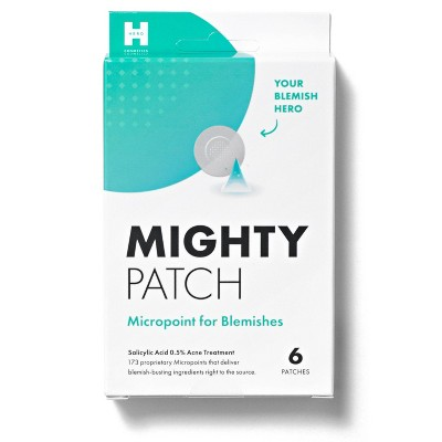 Hero Cosmetics Mighty Acne Patch Micropoint for Blemishes - 6ct