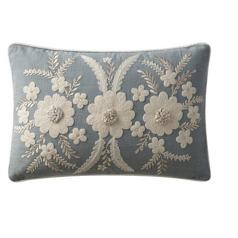 VCNY Home Celine Embroidered Cotton Throw Pillow - image 1 of 1
