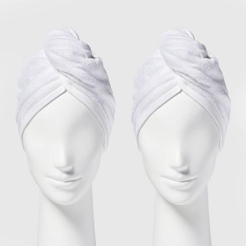 2pk Bath Hair Wrap Set - Room Essentials™ - image 1 of 3
