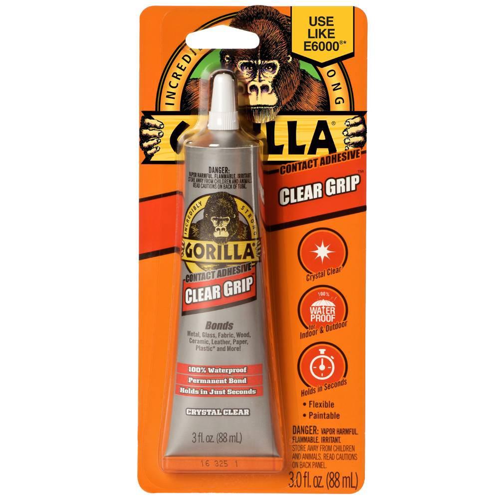 Image of Gorilla Glue Grip 3oz - Clear