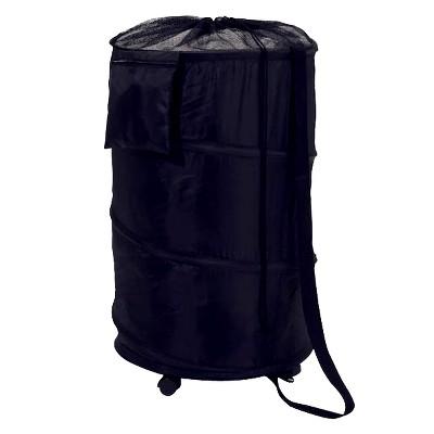 Pop Up Portable Laundry Hamper with Wheels - Dark Blue