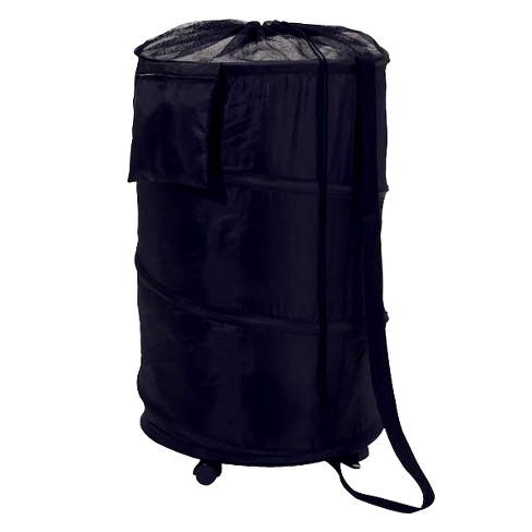 Pop Up Portable Laundry Hamper with Wheels - Dark Blue - image 1 of 4