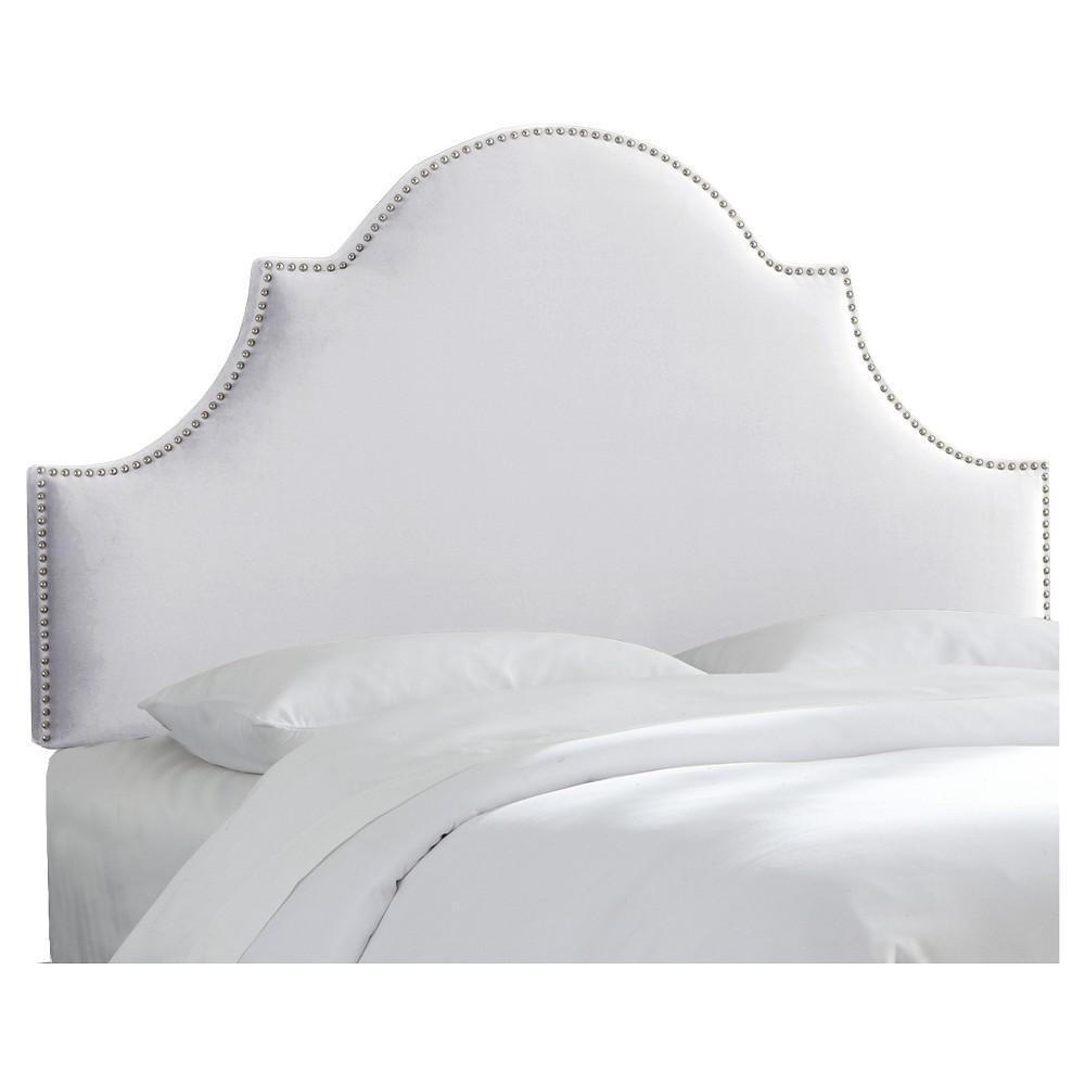 Chambers Headboard - Mystere Snow (Full) - Skyline Furniture