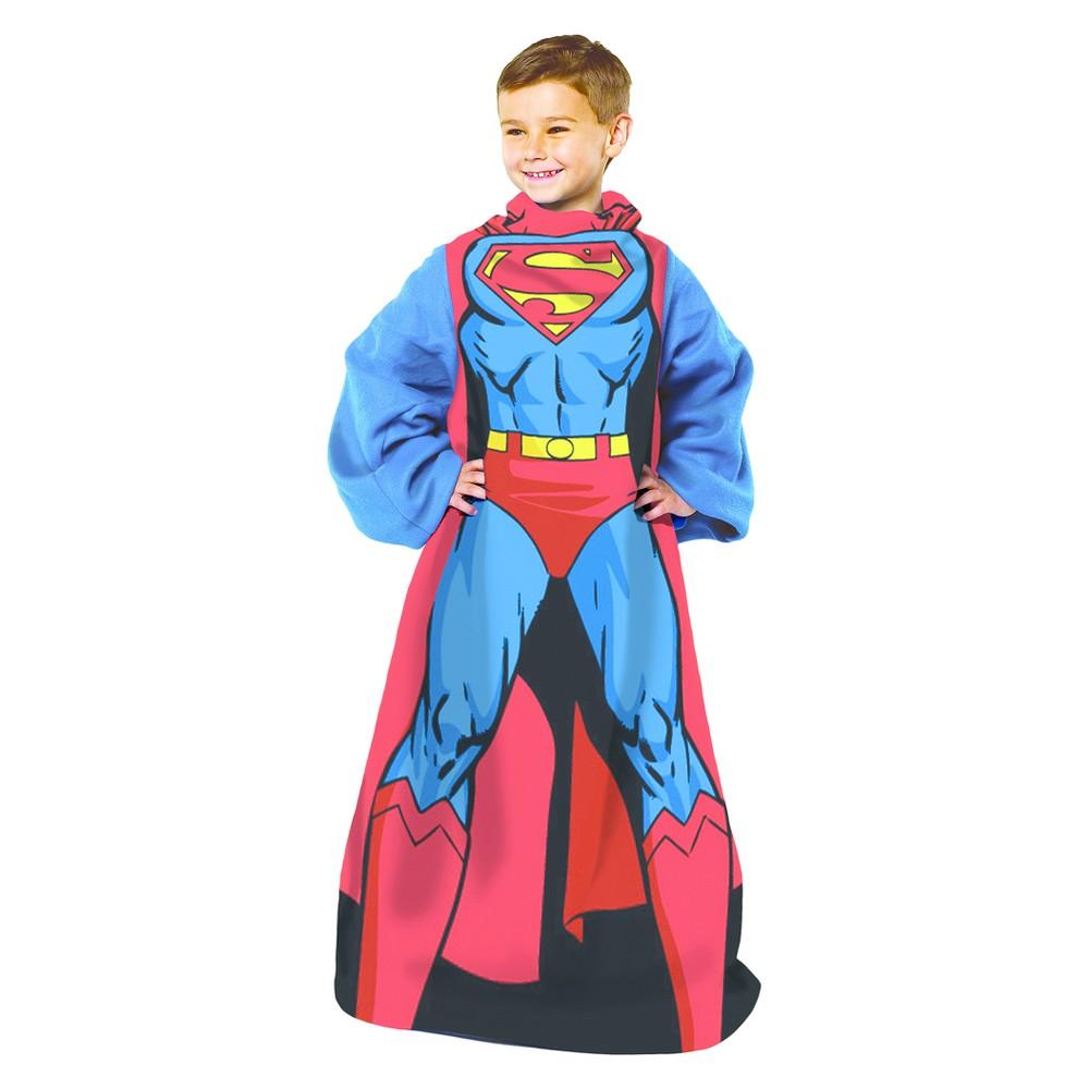 Superman Comfy Throw Blanket (48