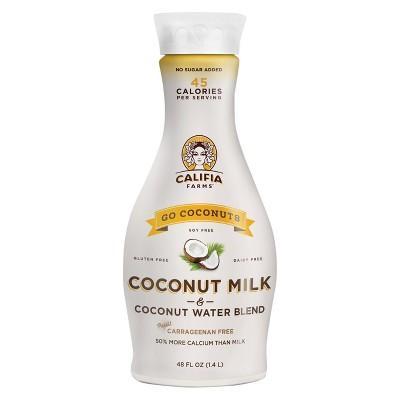 Non-Dairy Milks: Califia Farms