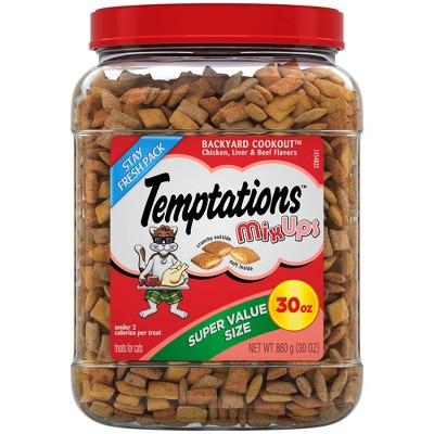 Temptations MixUps Treats for Cats Backyard Cookout Flavor - 30oz