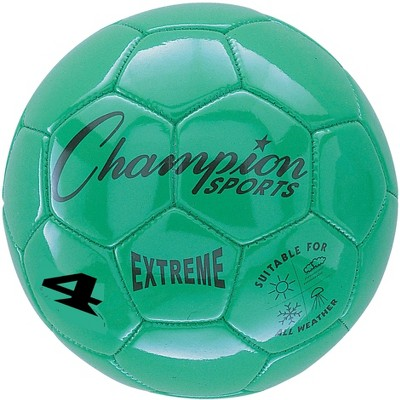 Extreme Series Size 4 Soccer Ball, Green