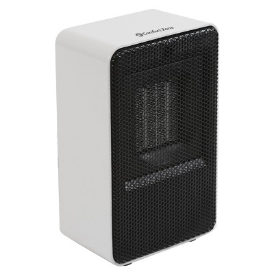 Comfort Zone Ceramic Heater Small Personal Fan