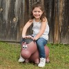 Farm Hoppers Inflatable Bouncing Brown Horse - image 2 of 3