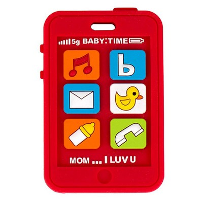 Silli Chews Phone Teether - Red