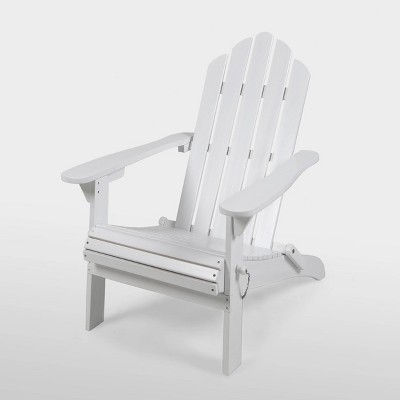 Hollywood Acacia Wood Foldable Patio Adirondack Chair - Christopher Knight Home