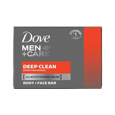 Dove Mencare Deep Clean Body And Face Bar Soap