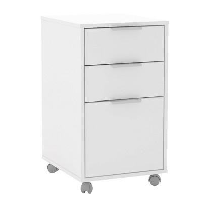Durban 3 Drawer File Cabinet - Chique