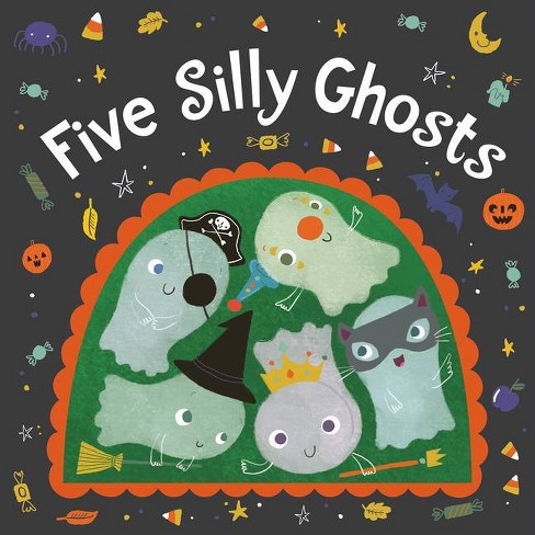 Five Silly Ghosts - by  Houghton Mifflin Harcourt (Board Book) - image 1 of 1
