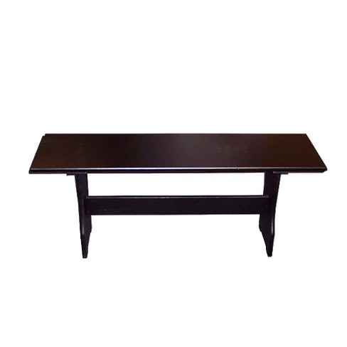 Nook Bench Wood/Black - TMS - image 1 of 1