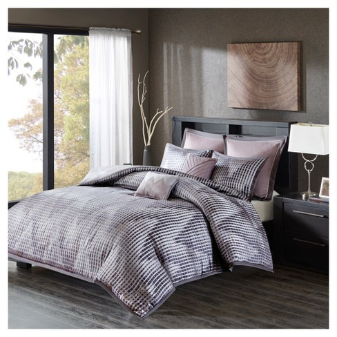Shelby Jacquard Duvet Cover Set 7pc - image 1 of 7