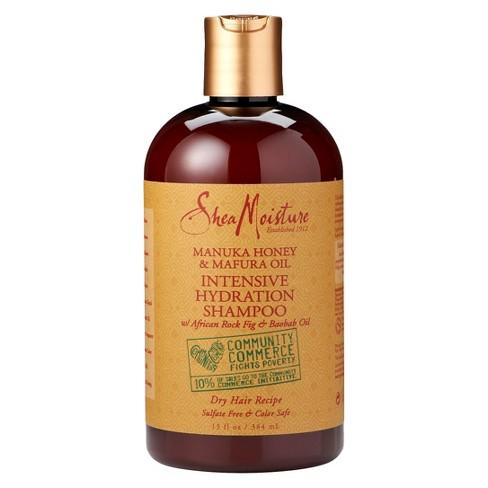 SheaMoisture Manuka Honey & Mafura Oil Intensive Hydration Shampoo - 13 fl oz - image 1 of 3