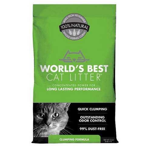 World's Best - Clumping Cat Litter - image 1 of 1