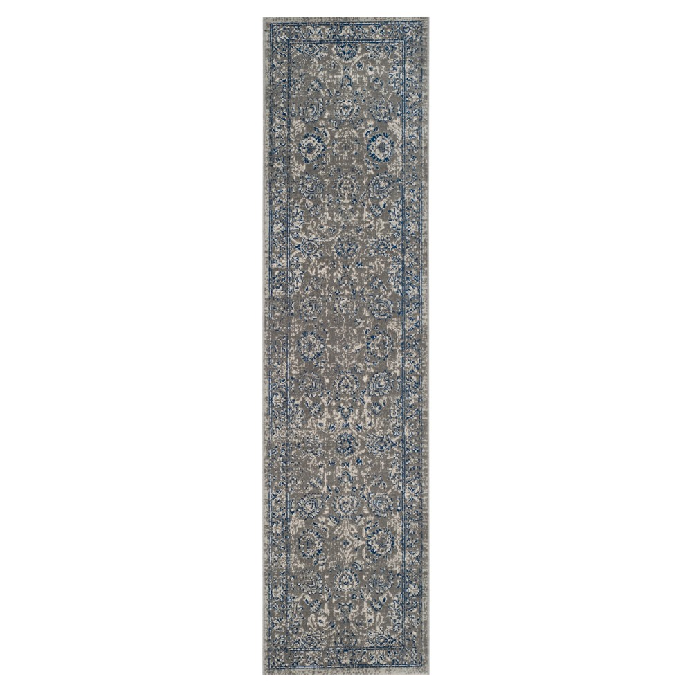 Artisan Rug - Dark Gray/Blue - (2'2x12') - Safavieh