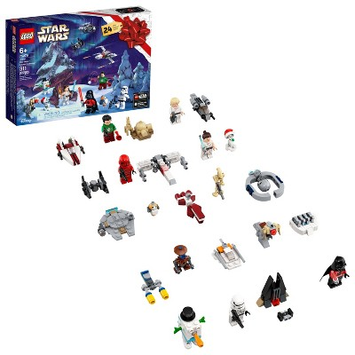 LEGO Star Wars Advent Calendar Building Kit Fun Christmas Countdown Calendar with Star Wars Buildable Toys 75279