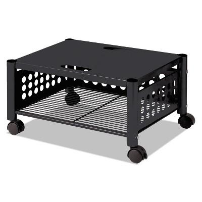 Vertiflex Underdesk Machine Stand One-Shelf 21 1/2w x 17 7/8d x 11 1/2h Black VF52009