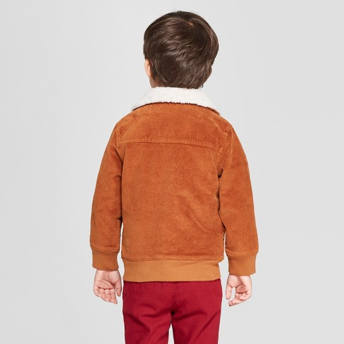 322b66a01 Genuine Kids® From OshKosh Toddler Boys  Flight Jacket - Brown   Target