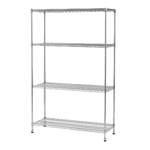 Seville Classics 4-Shelf Commercial Garage and Utility Wire Shelving Unit - image 1 of 4