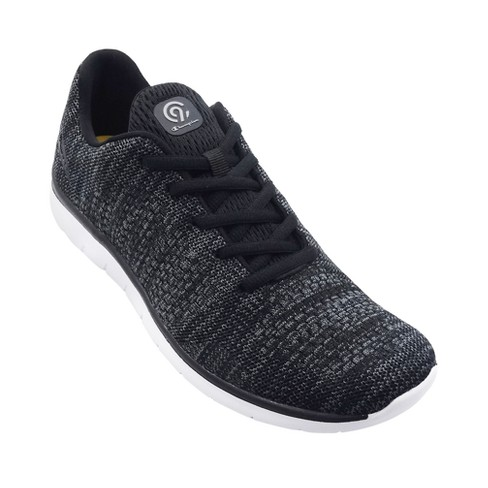 8333b1df29fb47 Men s C9 Champion® Focus 3 Black Lightweight Athletic Shoe   Target