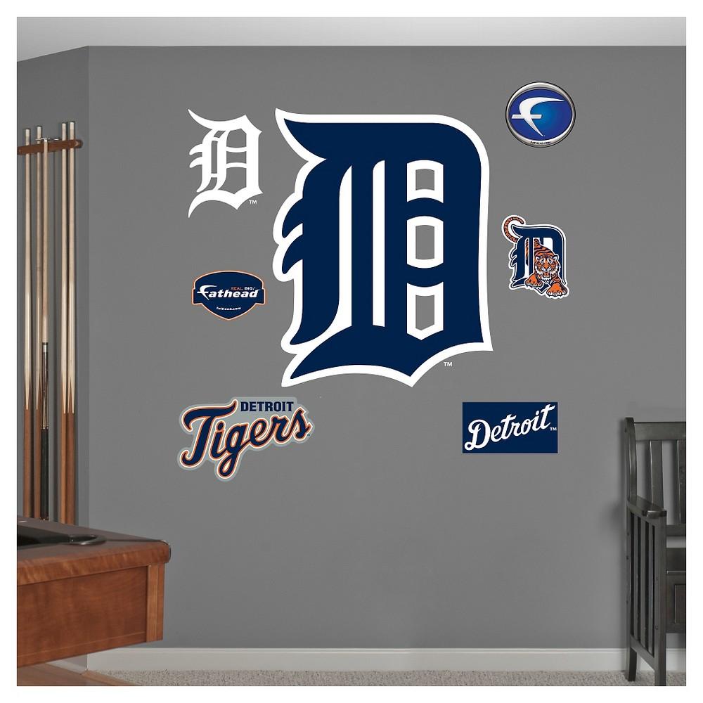 Detroit Tigers Fathead Decorative Wall Art Set - 52x4