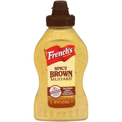 Mustard: French's Spicy Brown
