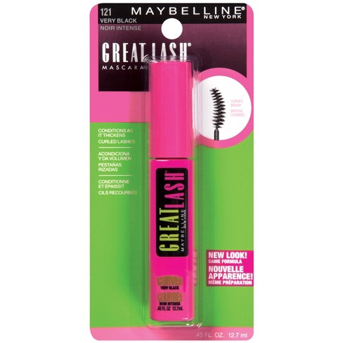 acd2f67a8ee Maybelline Great Lash Curved Brush Mascara - 120 Blackest Black. Shop all  Maybelline