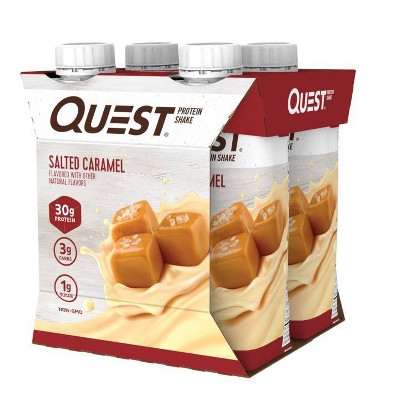 Quest Ready To Drink Protein Shake - Salted Caramel - 44 fl oz/4ct