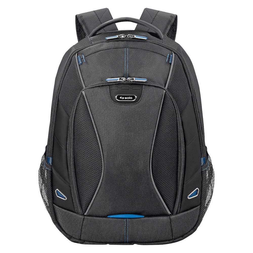 "Image of ""Solo 18.5"""" Active - Tech Backpack - Black"""