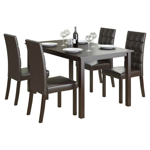 4 Seating Atwood Dining Set - CorLiving - image 1 of 5