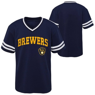 MLB Milwaukee Brewers Baby Boys' Pullover Jersey
