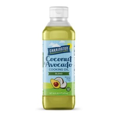 Carrington Farms Liquid Coconut Cooking Oil, Coconut and Avocado - 16oz