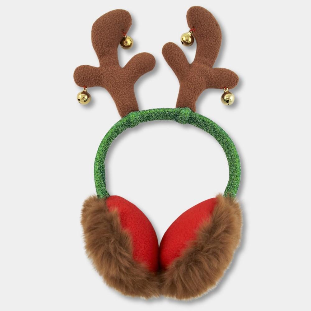 Kids' Reindeer Earmuffs - Brown, Kids Unisex