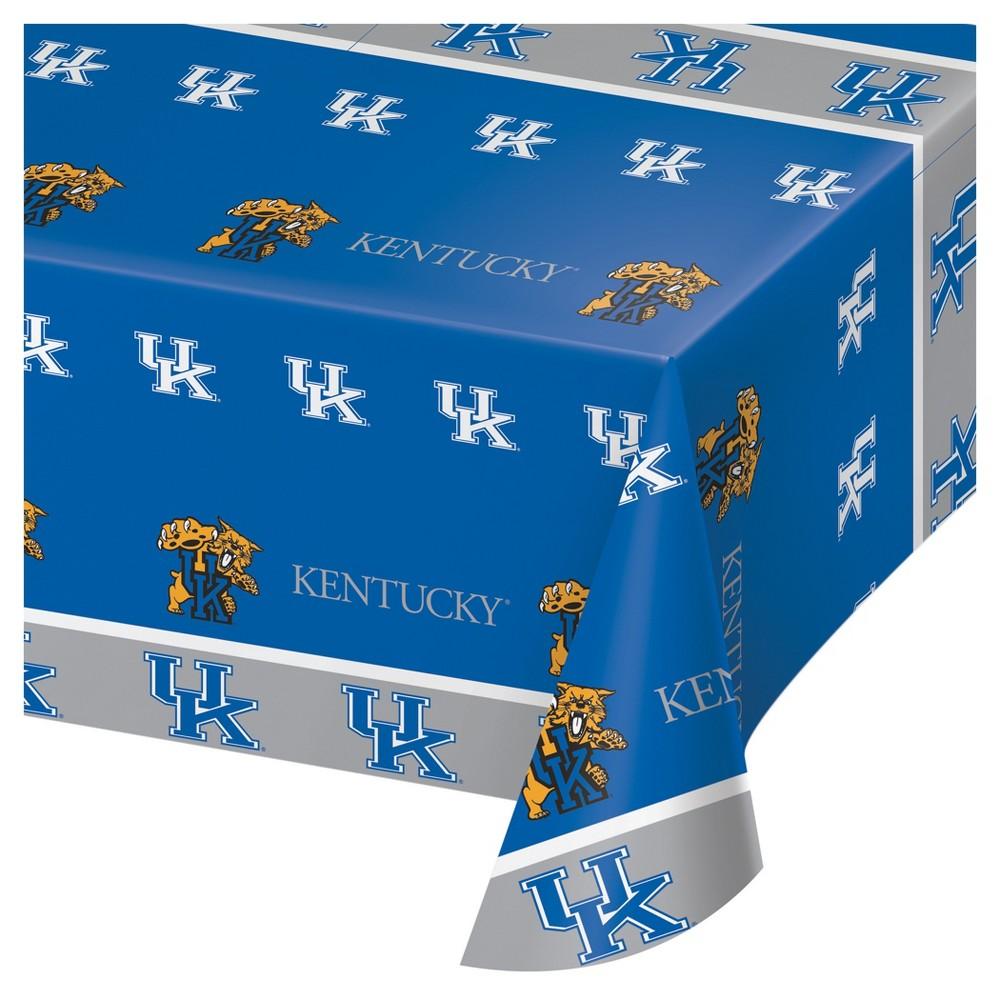 Image of University Of Kentucky Wildcats Plastic Tablecloth