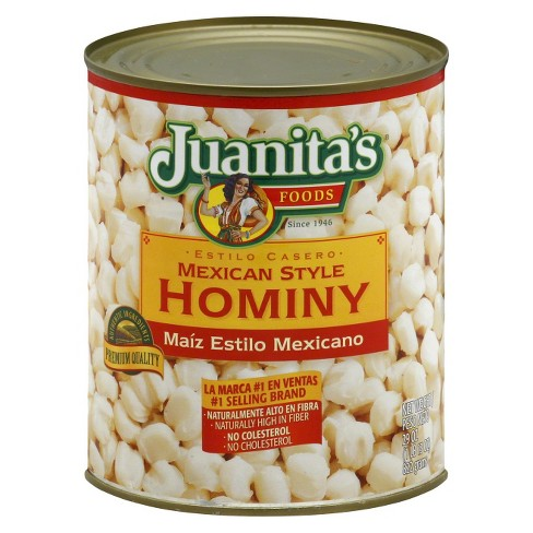 Juanita's Foods Mexican Style Hominy 29 oz - image 1 of 1
