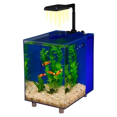 Water World PRISM Desktop 2-Gallon Nano Aquarium Kit from Penn-Plax