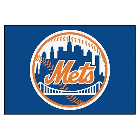 "1'6"" x 2'6"" New York Mets Fanmat Accent Rug - image 1 of 1"