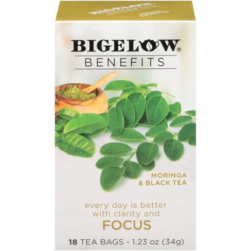 Bigelow Benefits Moringa & Black Focus Tea - 18ct - image 1 of 4