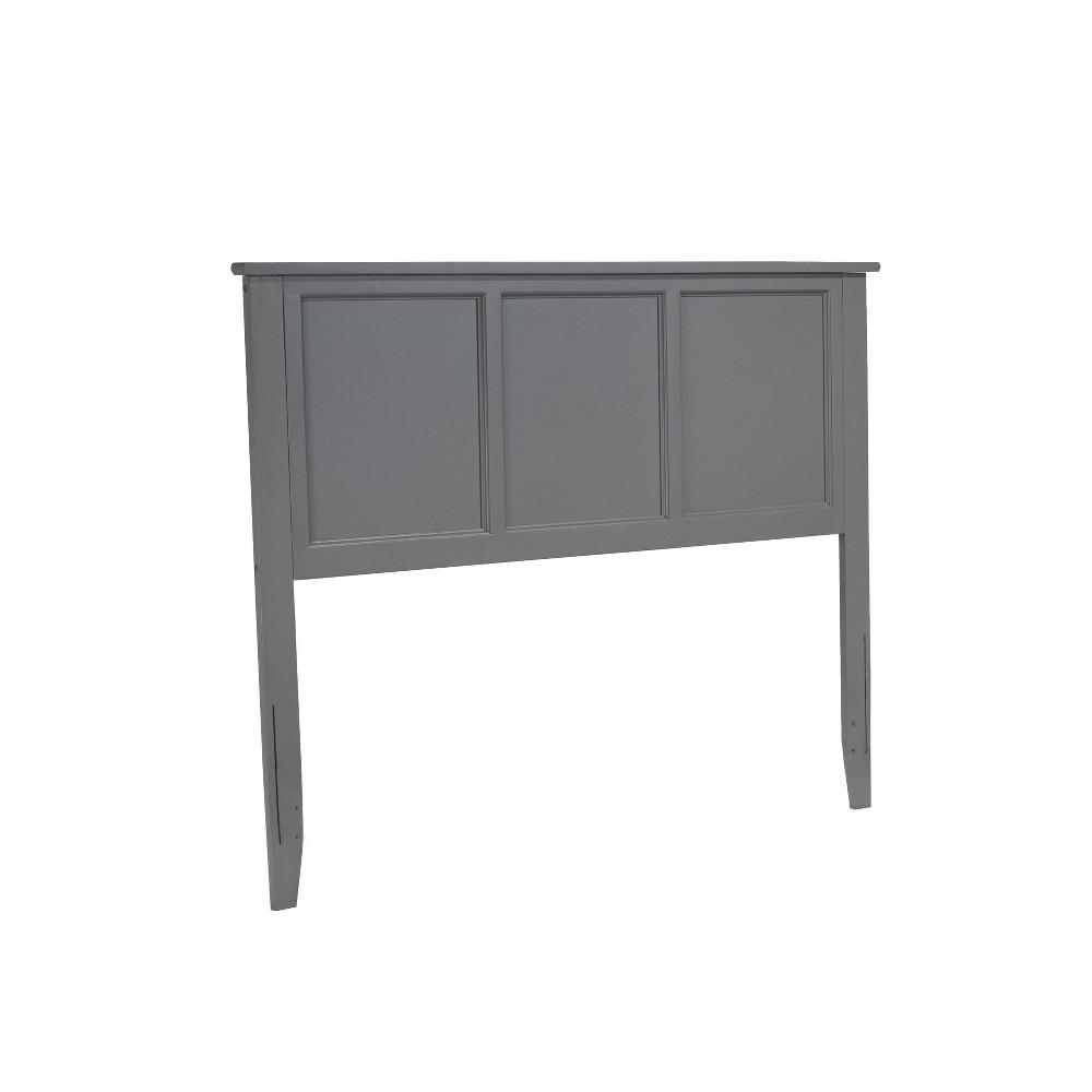 Image of Full Madison Headboard Gray - Atlantic Furniture