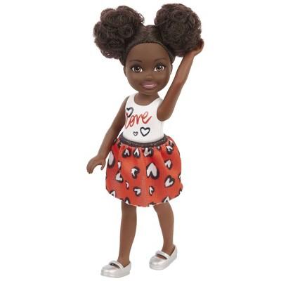 Barbie Chelsea Doll - Heart Print Skirt