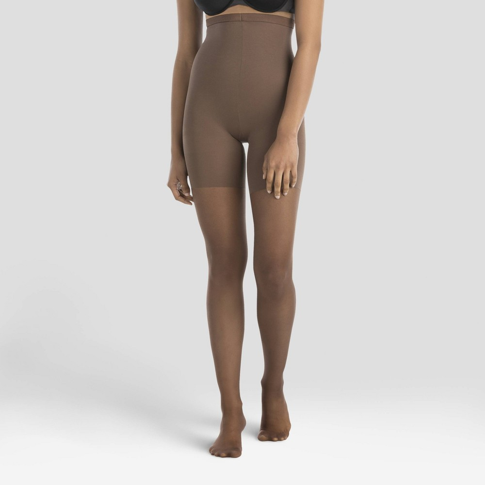Image of Assets by Spanx Women's High Waist Perfect Pantyhose - Nude Sierra 1