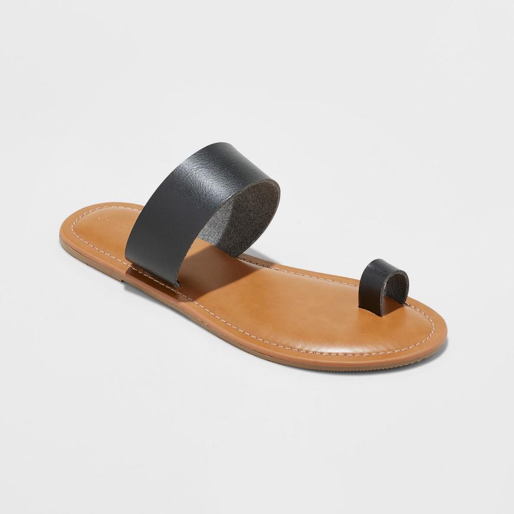 Women's Kessie Slide Sandal - Universal Thread Black 12