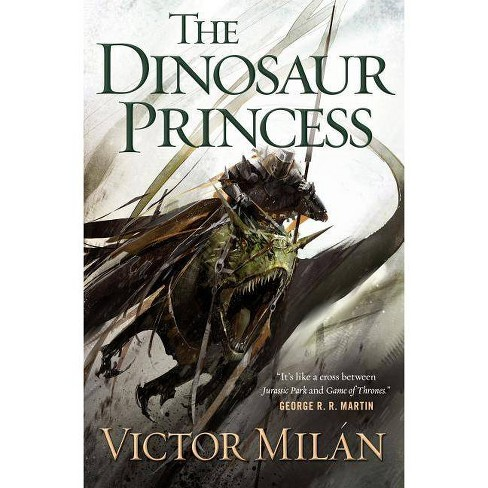 The Dinosaur Princess - (Dinosaur Lords) 2 Edition by  Victor Milan (Hardcover) - image 1 of 1
