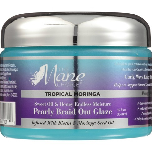 The Mane Choice Tropical Moringa Pearly Braid Out Glaze - 8 fl oz - image 1 of 3