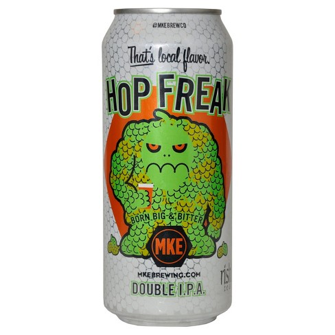 Milwaukee Brewing® Hop Freak Double IPA - 4pk / 12oz Cans - image 1 of 1