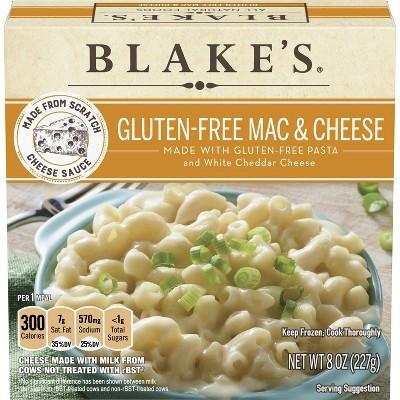 Blake's All Natural Gluten Free Frozen Mac & Cheese - 8oz